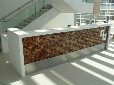 Bespoke Reception Desk Bespoke Reception Desk For Volker Fitzpatrick At Winnerish Berkshire Simon Kohn Furniture Ltd