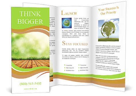 agriculture brochure templates organic farming brochure template design id 0000007039