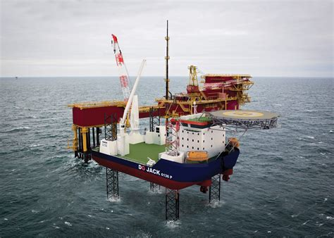 Home Design For Off The Grid damen and gustomsc set up jack up one stop shop offshore