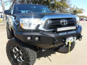 2014 Toyota Tacoma Front Bumper Toyota Tacoma 2012 2014 Front And Rear Bumpers