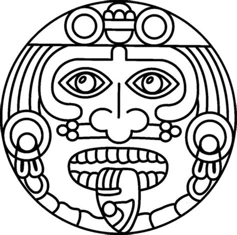 aztec calendar coloring page books worth reading aztec s coloring pages coloring pages
