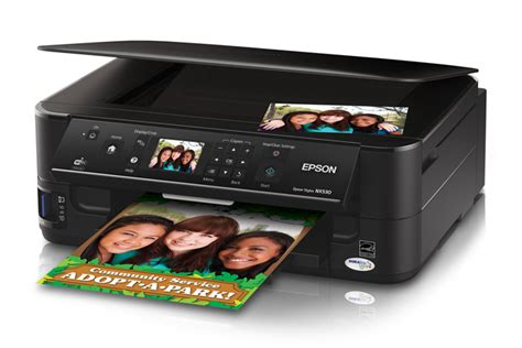 Printer Epson Stylus Nx130 All In One epson stylus nx530 all in one printer inkjet printers for work epson canada
