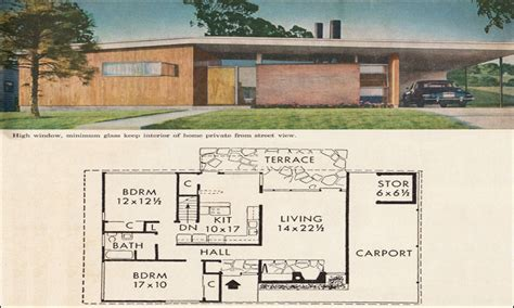 mid century modern ranch house plans mid century modern house plans mid century modern ranch