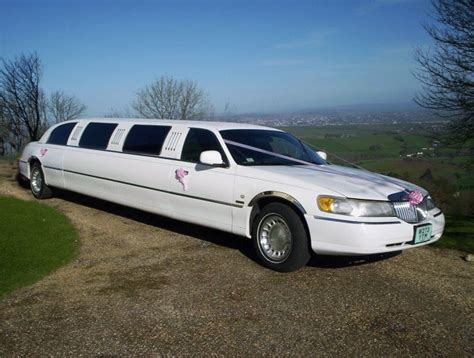 White Limo by Limo Hire Home