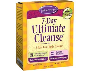 Bowel Detox Nature S Reviews by Nature S Secret 7 Day Ultimate Cleanse Review 187 Does It