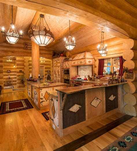 Home And Cabin Decor Log Home Decorations Best Free Home Design Idea