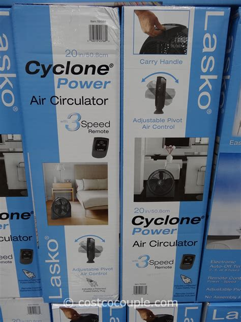 lasko pedestal fan costco lasko 20 inch cyclone fan