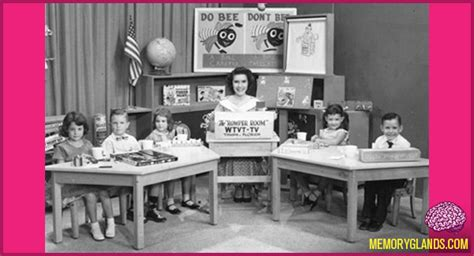 the romper room memory glands nostalgic photos