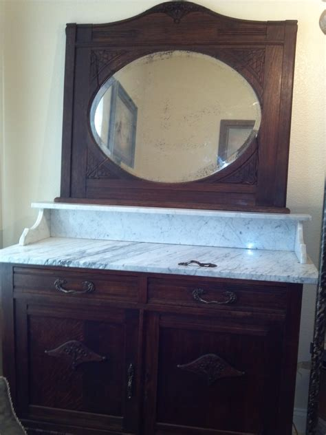 1800 s marble top dining room server for sale antiques
