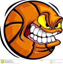 Basketball ball face vector image stock image image 10361811