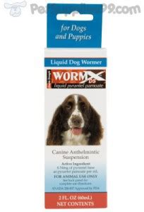 side effects of deworming a puppy worm x ds liquid wormer