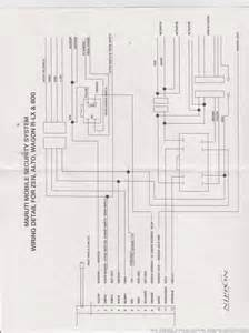 maruti 800 car wiring diagram wiring diagram schemes