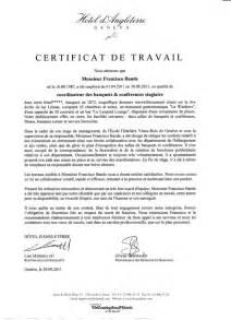 certificat de travail h 244 tel d angleterre 232 ve 2011