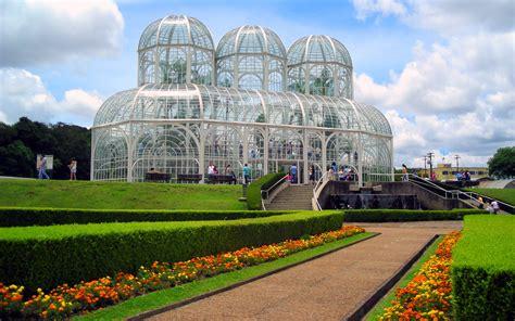 Botanical Garden Of Curitiba Widescreen For Windows Xp Botanic Garden Curitiba Paran Brasil