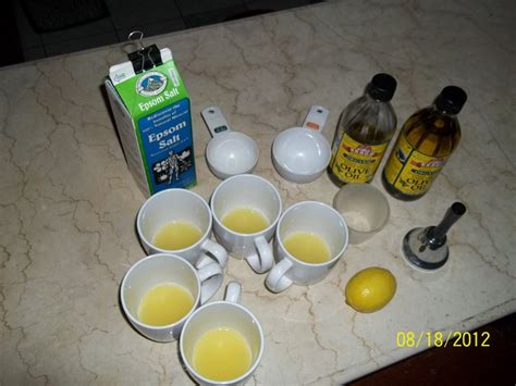 Olive Lemon Juice Detox by Entire Family Does Hulda Clark Liver Flush At The Start Of