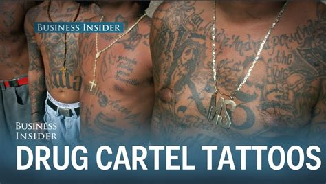 cartel tattoos the economic reason cartel members get to