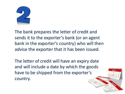 Letter Of Credit Expiry Date where the credit risk lies in letters of credit