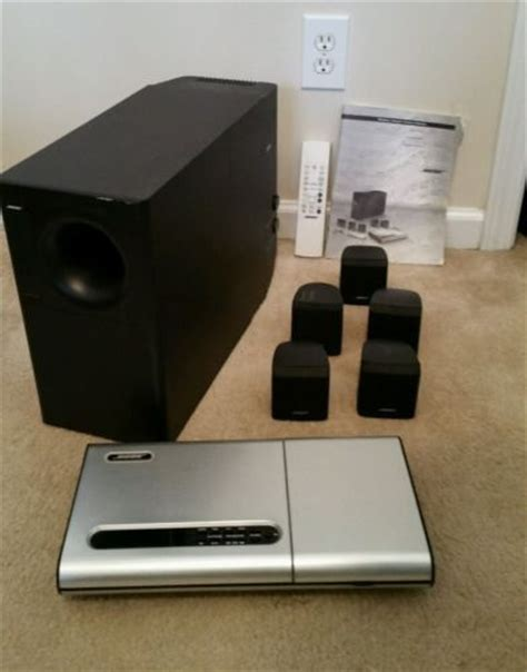 bose lifestyle 8 series ii 5 1 channel home theater system