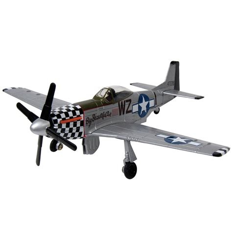 p 51 mustang scale model motoromax prestige p 51 mustang die cast scale model
