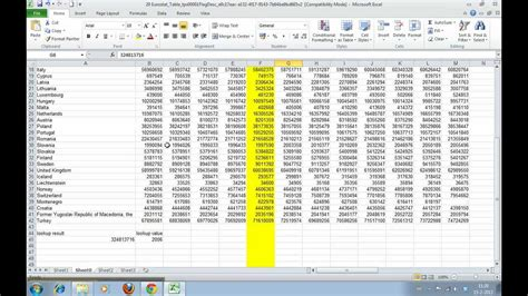 tutorial how to use excel 2010 how to use h lookup in excel 2010 tutorial how to decide