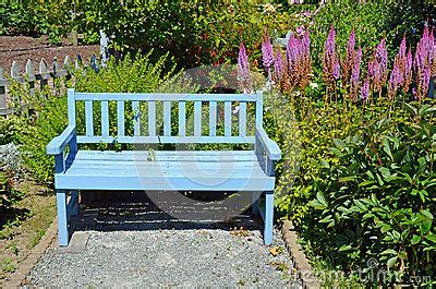 blue outdoor bench blue garden bench benches pinterest