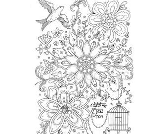 Vase With Flowers Coloring Page Florales Bild Zum Ausmalen Blumen Dream Of A Flower