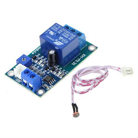 Xh M131 Dc 5v Light Photoresistor Relay Module Sensor Cahaya xh m131 dc 5v light switch photoresistor relay