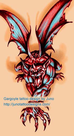 grim reaper gargoyle tattoos juno tattoo art