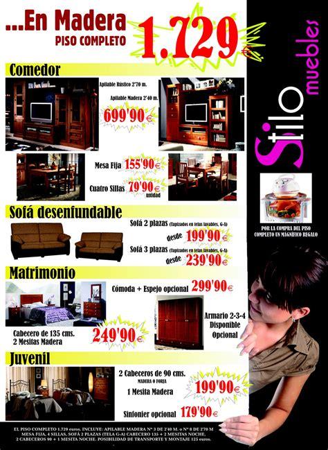 pisos completos muebles pisos completos stilo muebles