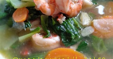 resep sayur pak choy enak  sederhana cookpad
