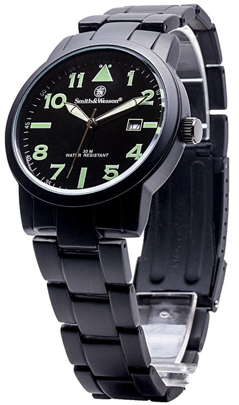 smith and wesson pilot aviator black stainless steel