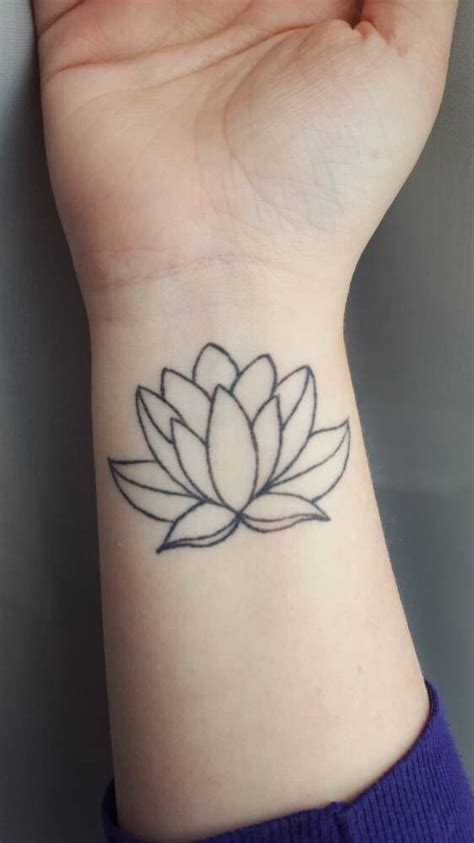 37 top lotus tattoo design on wrist golfian com