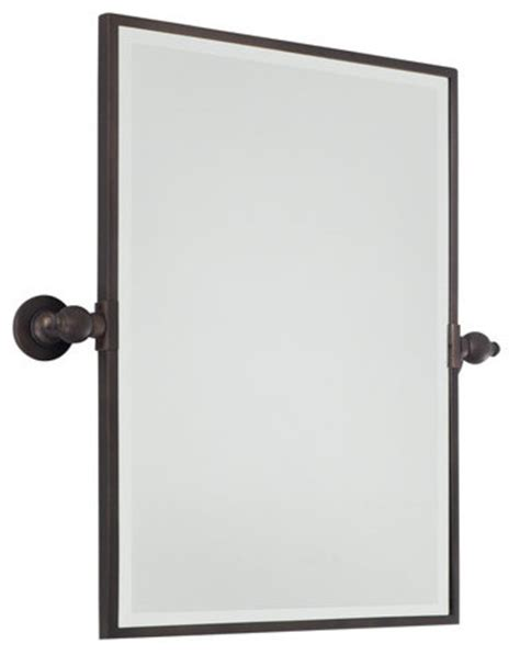 bathroom pivot mirror rectangular minka lavery 1440 267 standard rectangle pivoting bathroom
