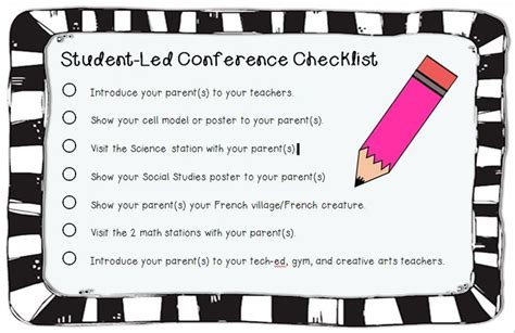 Parent Letter Student Led Conferences Student Led Conference Form With Parent Evaluation Form As Well Definitely Makes Conferences