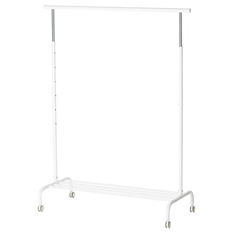 ikea racks rigga clothes rack white ikea