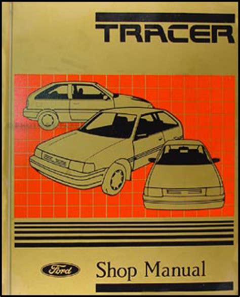 online car repair manuals free 1989 mercury tracer electronic valve timing 1988 1989 mercury tracer repair shop manual original