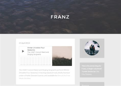 Free Tumblr Themes List | olle ota themes free tumblr themes