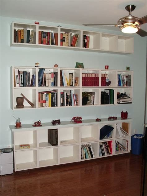 Ikea Hack Dining Room Hutch by Wall Shelves For Books Design Homesfeed