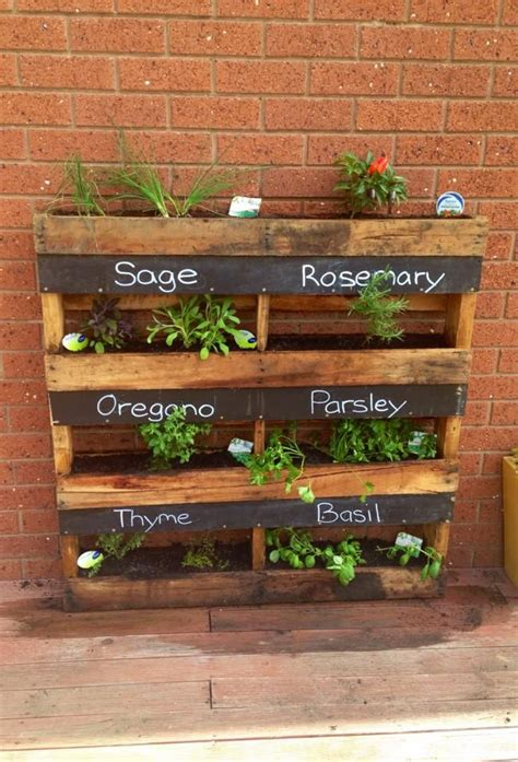 herb planter box garden ideas