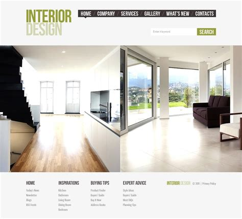 home design interior facebook interior design facebook html cms template 42213