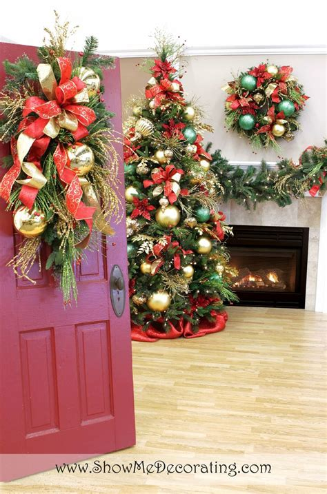 1000 images about christmas trees royal red and gold