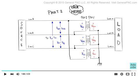 delta wye transformer phasor diagram delta free engine