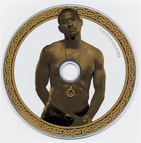 Cd Usher Confessions Special Edition jaquette audio