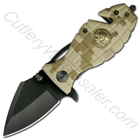 marine corps knives us marine corps grenade handle rescue folder assist