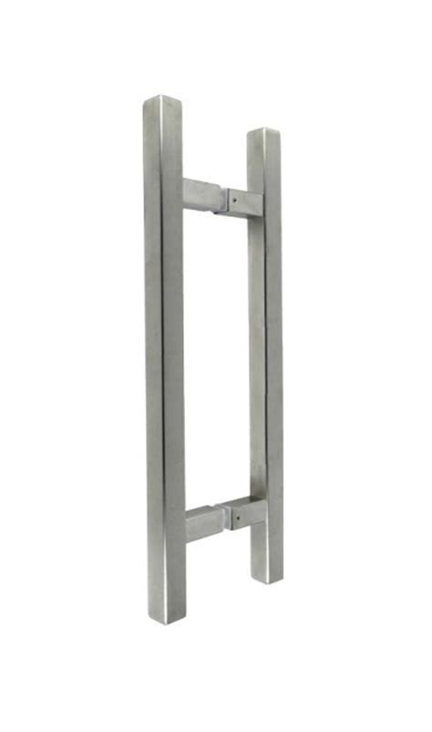 Handle Pintu Stainless Barbel 45cm jual handle pintu hollow kotak bentuk h sq 802 as 30 x 45