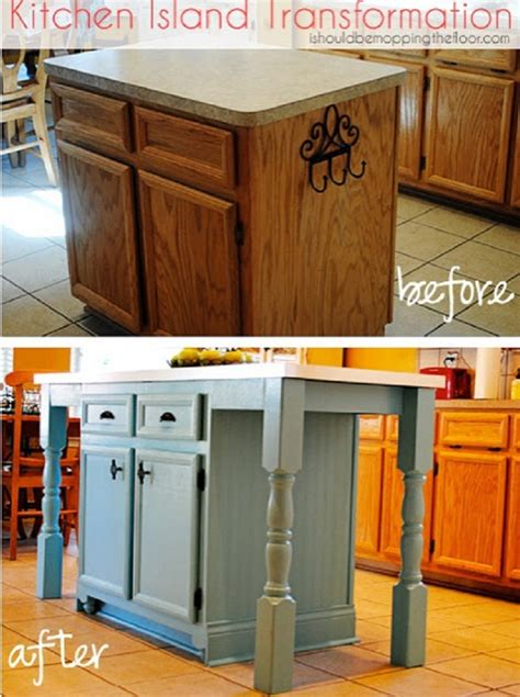 thrify diy kitchen island transformation