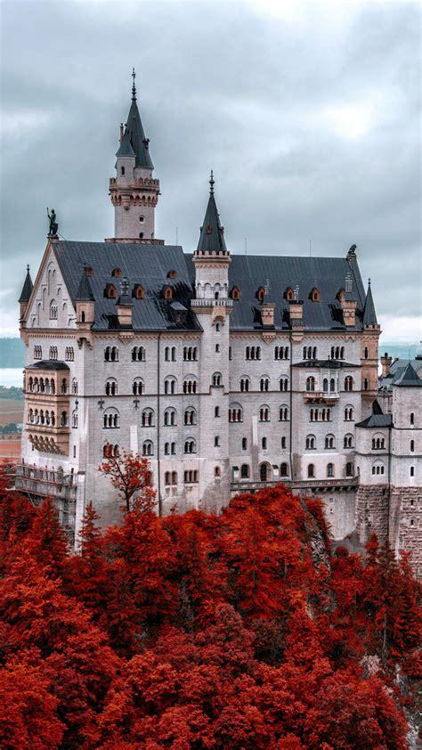 wallpaper neuschwanstein castle bavaria germany tourism