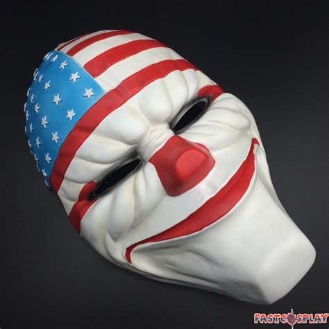 payday  dallas cosplay mask