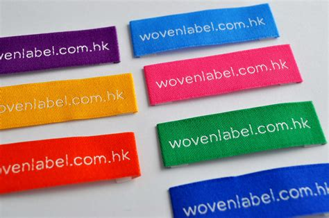 Woven Labels For Handmade Items - name woven labels iron on name labels custom name labels