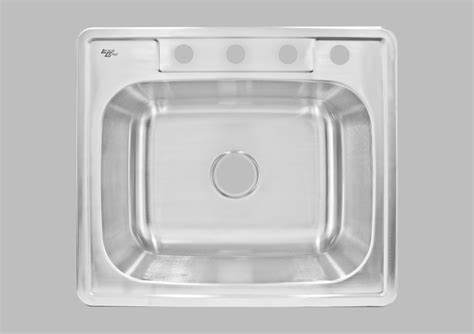 less care lt84 25 inch kitchen and bar top mount sink